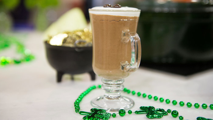 Irish Whiskey Mocha Chocolate Mousse