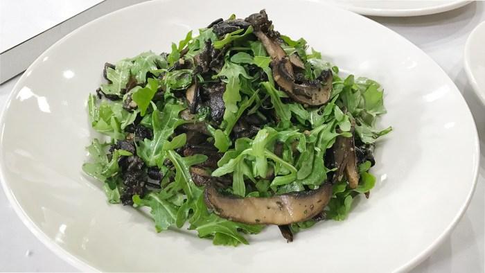 Bobby Flay's Wild Mushroom Salad