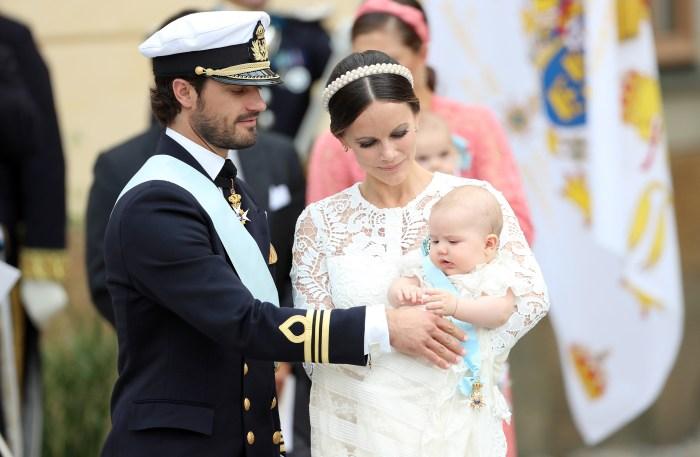 Princess Sofia of Sweden, expecting again eleven months after delivering Alexander