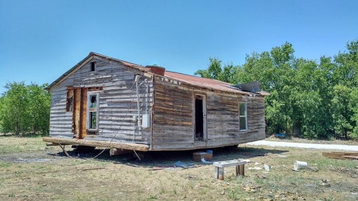 how to build a little shack