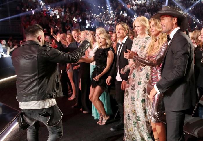 Singer Luke Bryan, jokingly, gets political about ACM Awards