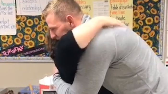 JJ Watt Surprised His Former Fourth-Grade Teacher With Retirement Gifts