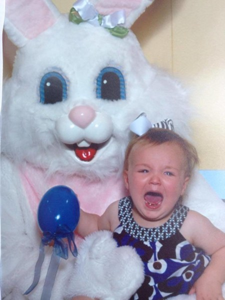 See Funny Photos Of Kids Who Are Scared Of The Easter