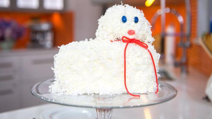 Jeffrey Mauro's Easter lamb cake