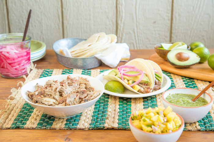 Slow-Cooker Carnitas recipe