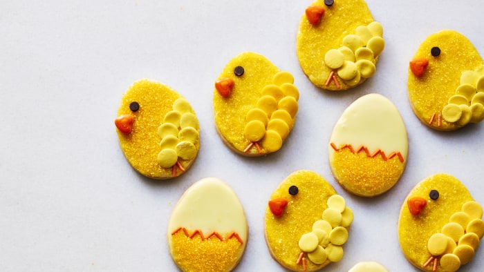 martha s easter chick cookies today com