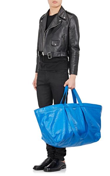 Balenciaga's Arena tote is a 2,145 version of the Ikea bag - TODAY.com