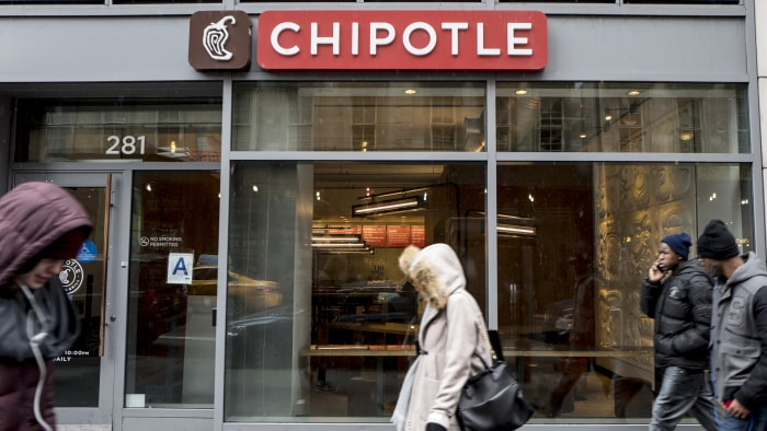 Chipotle shares rally 6% after company's earnings beat