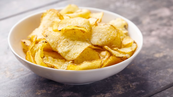Hearty kettle cooked potato chips