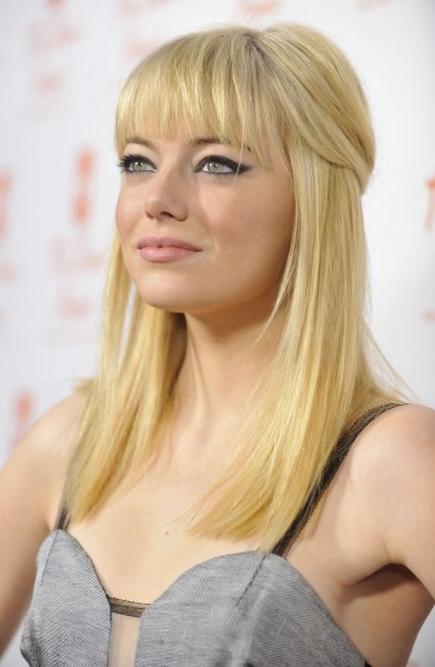 emma stone sports new strawberry blond hair color todaycom