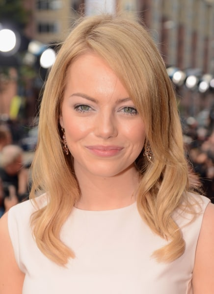 Emma Stone Sports New Strawberry Blond Hair Color Today Com
