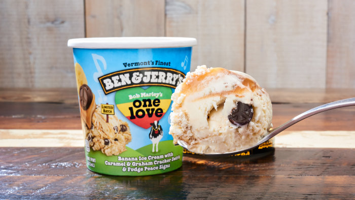 'One Love': Ben & Jerry's releases new flavor inspired by Bob Marley