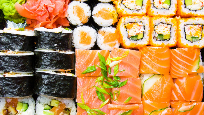 Sushi, Parasites Uptick Linked, Doctors Say