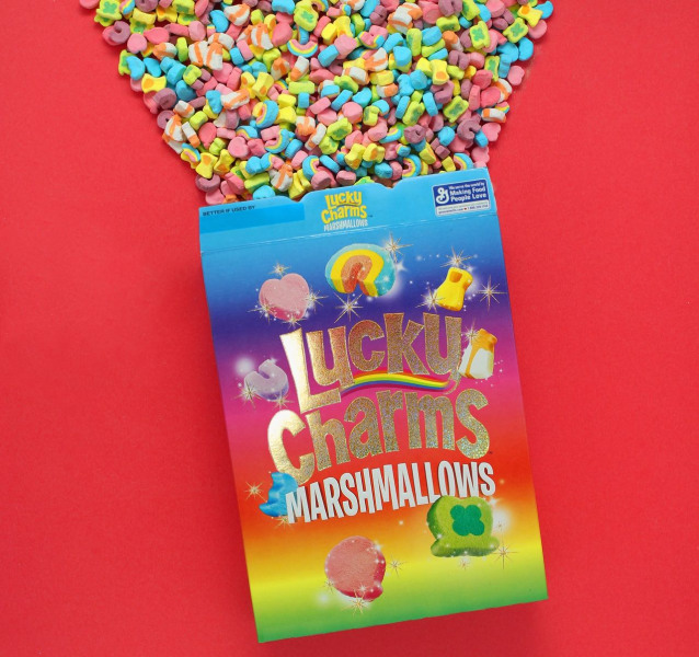 feeling lucky try to get one of lucky charms all