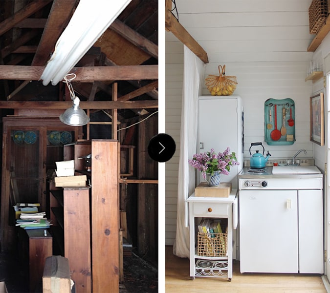 Grandma 39 S 200 Square Foot Garage Is Transformed Into A