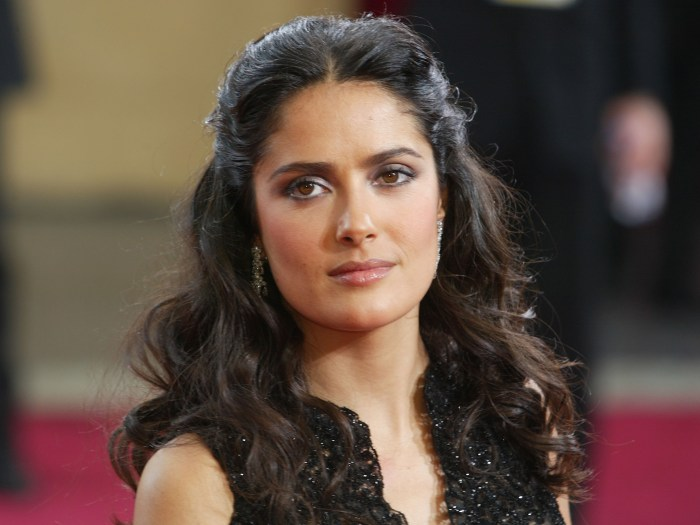 Tearful Salma Hayek At A Loss For Words Over Manchester Attack