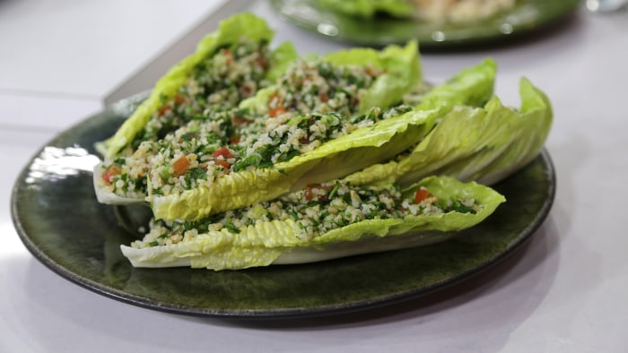 Tabbouleh (Bulgur Wheat Salad)