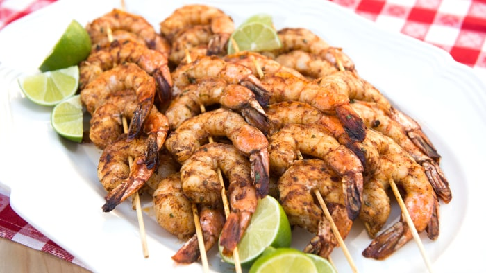 Chili Marinated Shrimp
