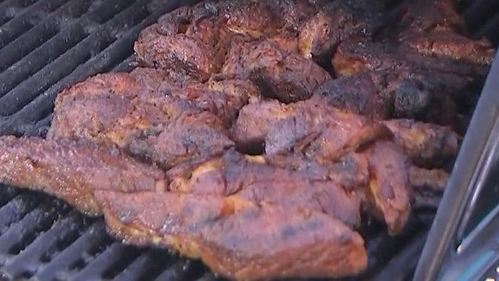 Melvin Bradley's Grilled Pork Ribs
