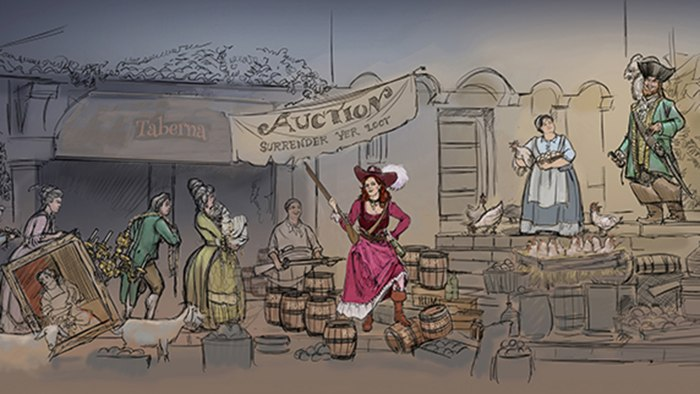Disney removing bride auction from 'Pirates of the Caribbean' ride