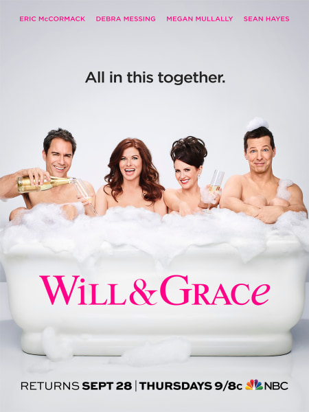 Resultado de imagem para Will & Grace new posters