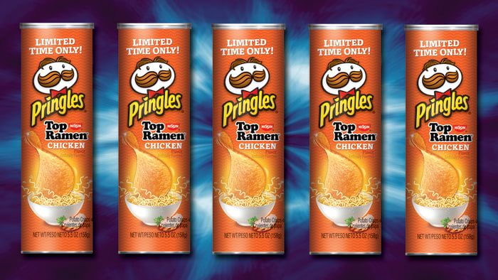 College kids rejoice, there's a Ramen-flavored Pringles
