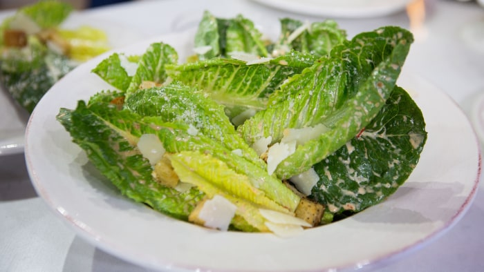Cat Cora's Spicy Caesar Salad