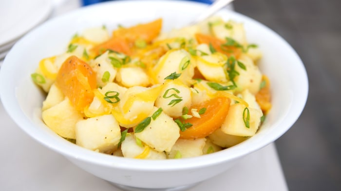 Martha Stewart's Potato & Pickled Beet Salad