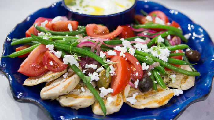 Grilled Mediterranean Chicken