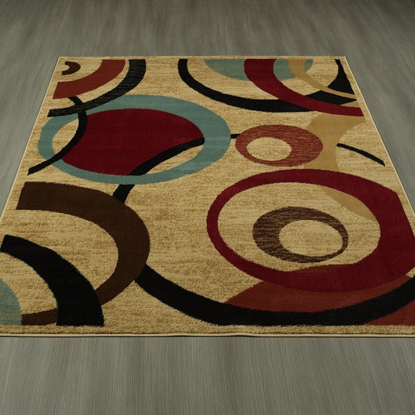 Best place to buy large area rugs blue green brown rug for Places to buy rugs