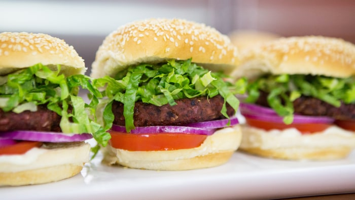 Dee Dee Pernell's Hoisin Burgers