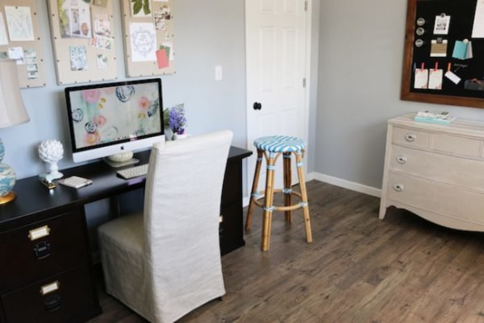 basement makeover: how to do a home office remodel - today