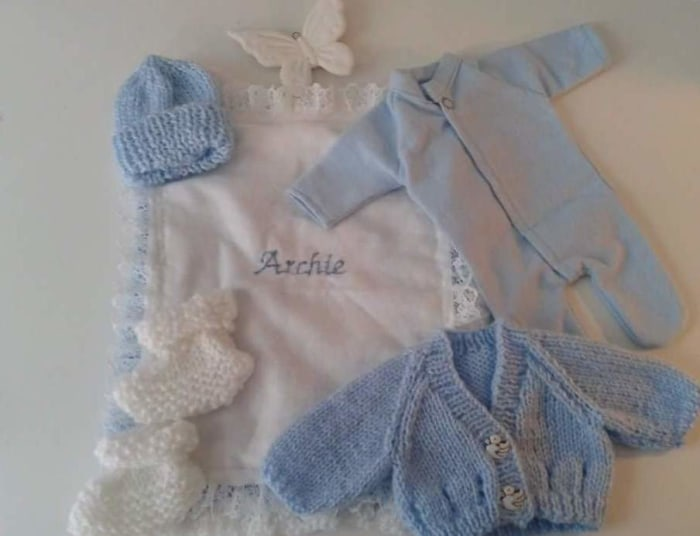 Funeral director honors miscarried babies with handmade clothing - TODAY.com