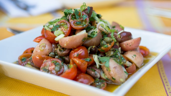 Red Potato and Tomato Salad