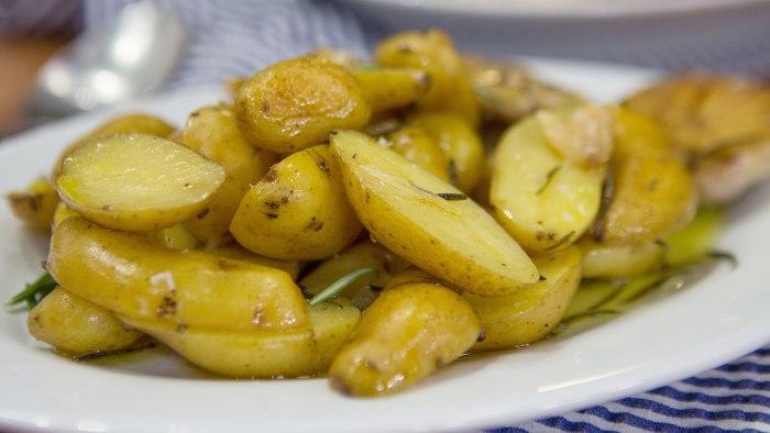 Clare and Jess' Rosemary Potatoes