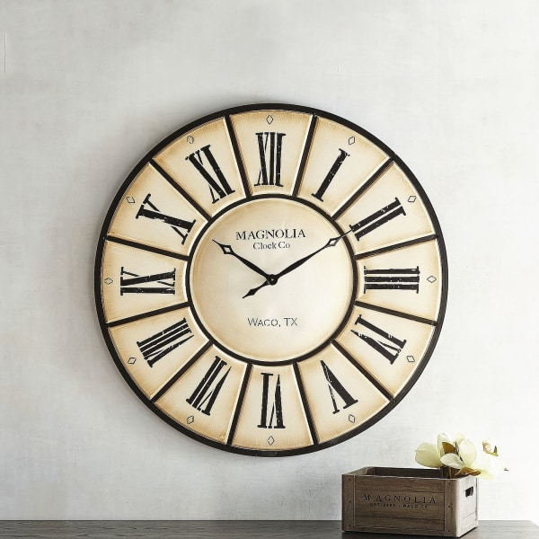 Magnolia Home Village Wall Clock