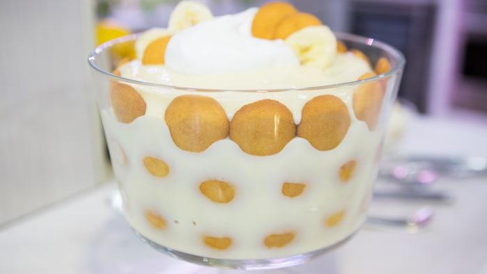 Elizabeth Chambers' Banana Pudding