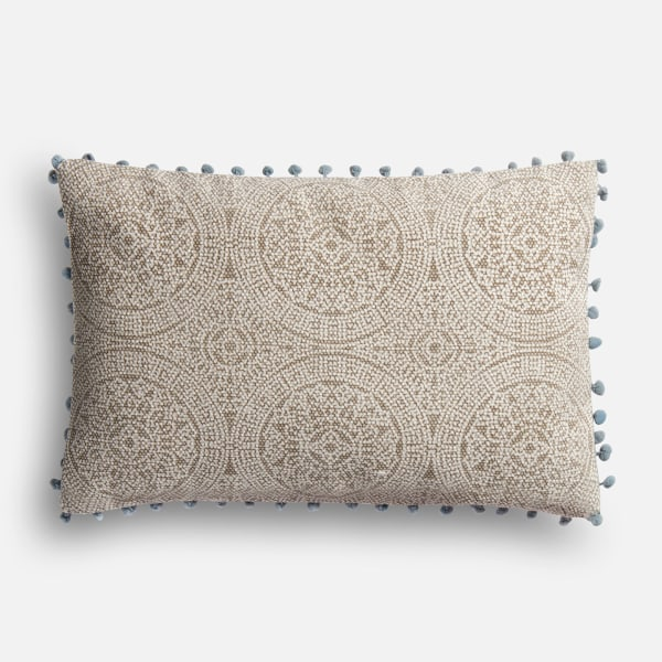 Magnolia Home Ruby Gray & Slate Lumbar Pillow
