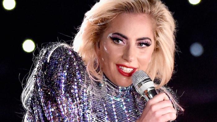 Lady Gaga Just Debuted Blue and Orange Hair