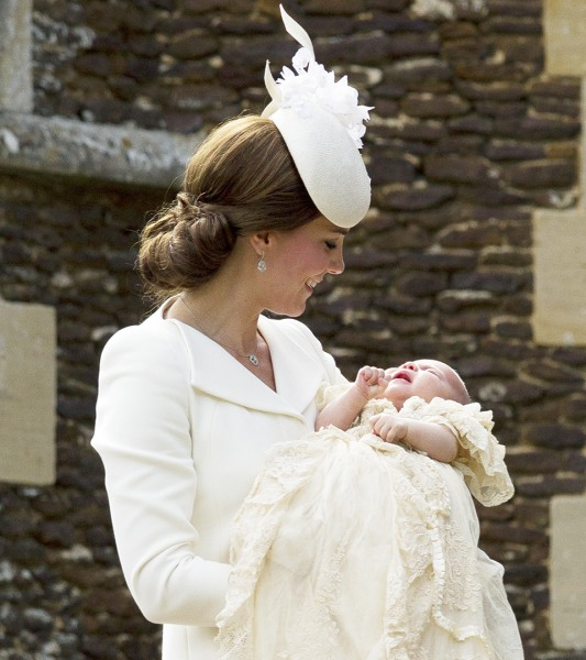 Duchess Kate stuns in Belgium wearing dress from Princess Charlotte's christening