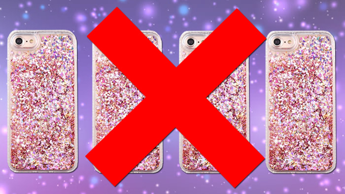 Liquid Glitter iPhone Cases Recalled for Severe Burns Risk