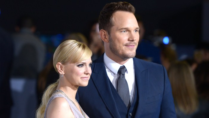 Chris Pratt And Anna Faris Are Separating