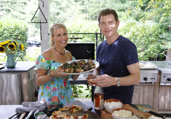 Awesome Zach Pagano/TODAY. Jill Martin And Bobby Flay ... Design Ideas