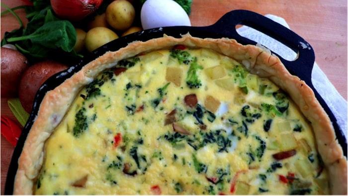Baby vegetable quiche today baby vegetable quiche ryan scott print recipe forumfinder Gallery