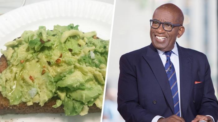 Al Roker's avocado toast