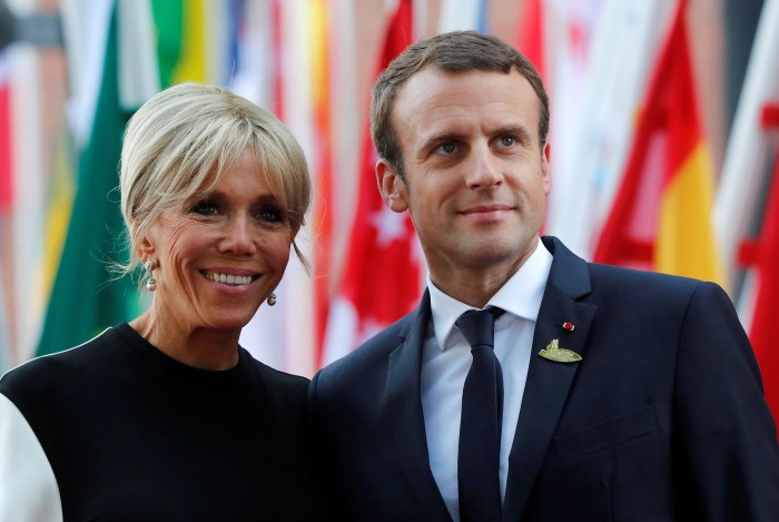 Brigitte Macron speaks of 25-year difference with Emmanuel