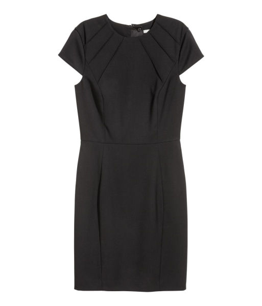H&M fitted black dress for work Today Show