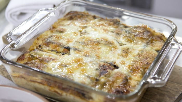 Cat De Orio's Grilled Zucchini Lasagna