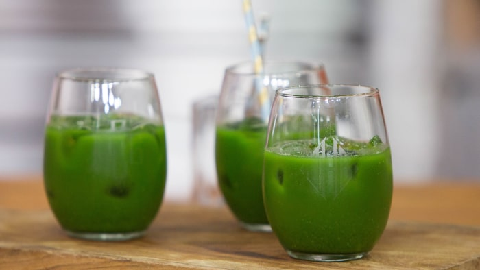 Alejandra Ramos' Spicy Green Juice