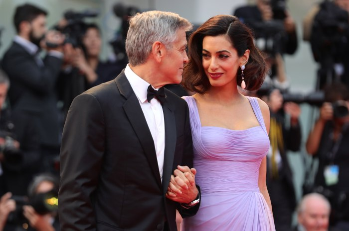 George Clooney Is a Sleep Deprived, Diaper Changing Whiz